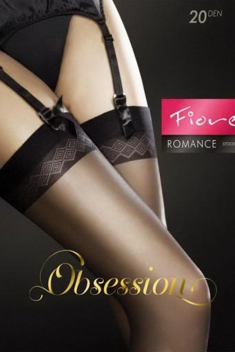 Fiore Romance - Ciorap pentru portjartier 20 den