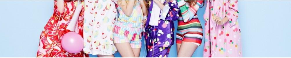 Pijamale din bumbac, saten sau dantela, calitate excelenta.